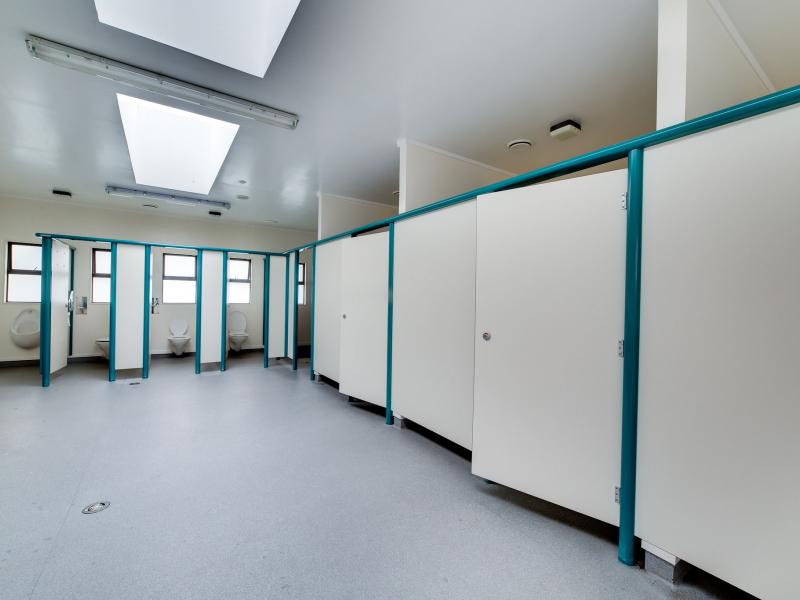 We have 3 toilet and shower blocks for our guests to use.