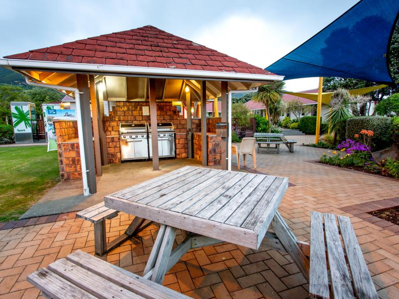 We have various BBQs areas, free for guests to use.